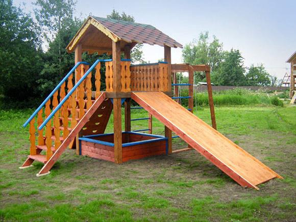 Сделать детский городок на даче своими руками фото