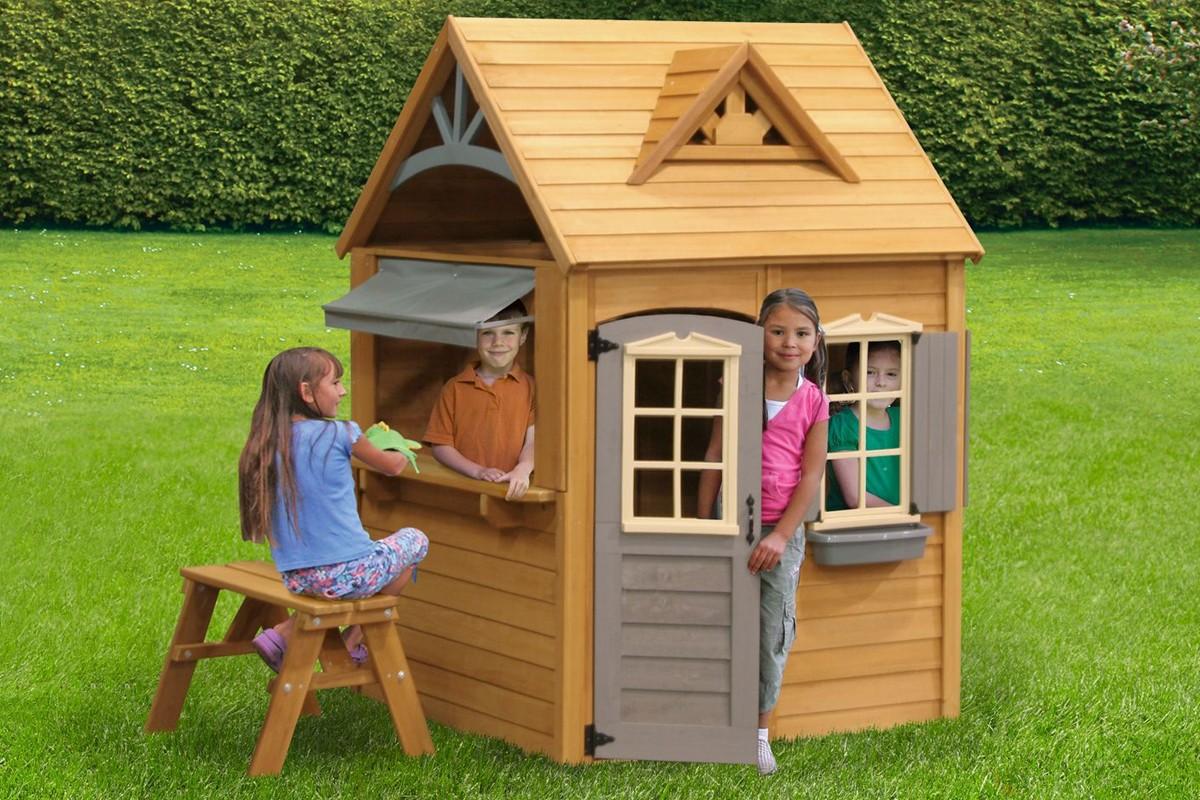 Как сделать детский домик самим