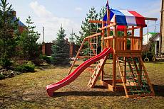 Обзор детских площадок и комплексов для дачи.